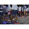 O mesmo modelo que Sapatos LED da equipe britânica nos Jogos Olímpicos Rio LED Light Shoes (FF829-1)
