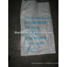 Fabricante de la luz de la ceniza de soda en China
