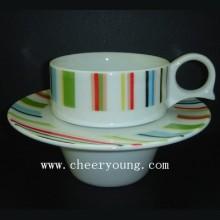 Kaffee-Tasse und Untertasse (CY-P528A)