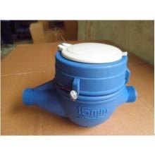 Dn15 Multi Jet Vane Wheel Dry Dial Plastic Water Meter