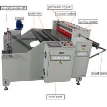 Automatische Schnellgeschwindigkeit PVC Roll Schneidemaschine