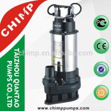 Bomba de água submergível de aço inoxidável do esgoto do CHIMP V1100Q 1.5HP