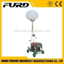 Tour d'éclairage portative de ballon 1000w * 2 avec générateur diesel (FZM-Q1000)