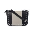 Simple Mini Women Crossbody Square rivetti borse alla moda