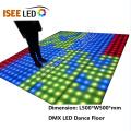 Square Progrmmable LED Dance Floor Panel Light