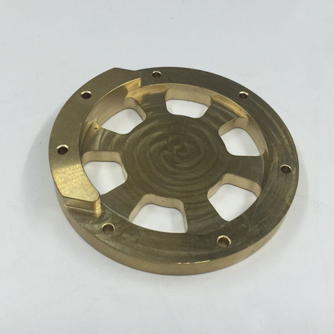 brass product machining