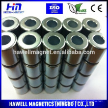 Forte anel ímãs de neodímio OD20-ID10 * 20mm para o motor