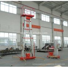 High quality!! aluminium alloy hydraulic construction elevator