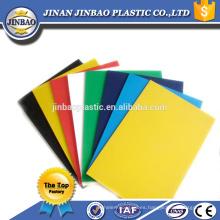 hojas plásticas coloreadas pvc rígidas flexibles de alta calidad de 3m m 5m m baratas