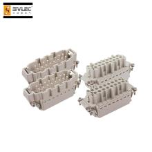 Conector resistente de terminação de travamento rápido de 32 pinos