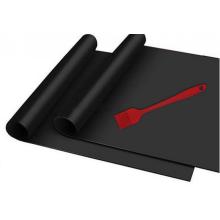 Non-stick PTFE coated fiberglass fabric for BBQ mat