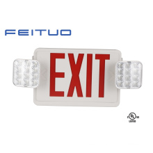Emergency Light, UL Combo, Exit Sign, LED Sign, Emergency Exit Sign