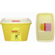 Plástico Desechable Médico 23.0L Sharp Contenedor