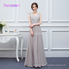 100% Real photos Gray Chiffon Prom Dresses 2018 Vestidos de Noiva Latest Design Strapless Gorgeous Prom Party Gowns Wholesale