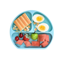 Silicone Baby Plate With Suction Feeding Placemat Set Non-Slip Toddlers Food Feeding baby plate for Children