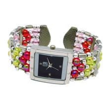 Promotional Quartz Bracelet Bangle Wrist Watch for Ladies