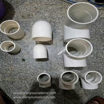Tuyau en PVC et raccords, Drainage de l'eau des tuyaux en PVC