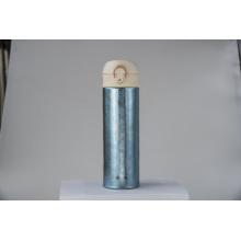 Coupe thermos en titane pur