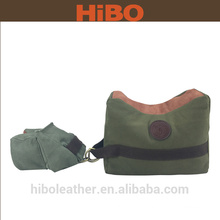 Canvas and leather Front and Rear Shooting Sand Rest Bag Set Beach Rest Range