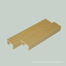 WPC Wood Composite PVC Ceiling Panel Interior False Ceiling Panel Design Ceiling Designs For Shops 40*25mm