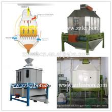 Enfriador y secador de contrapeso automático de pellets de flujo eléctrico Refrigerador