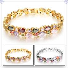 Collar de cobre amarillo de los accesorios de moda de la joyería de Crystail (AB235)