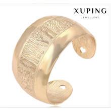 Fashion Xuping 18k Gold-Plated Big Wide estilo rural joyas de imitación Set -51467