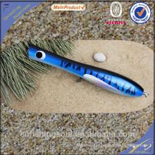 WDL033 china alibaba atacado isca de pesca componente molde big popper de madeira isca