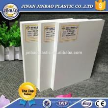 tablero rígido de alta densidad de la espuma del pvc para los gabinetes de cocina