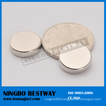 Small Axially Magnetized Disc Magnets