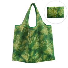2021New 20 Designs Eco-friendly 190T Polyester Reusable Foldable Shopping Bag
