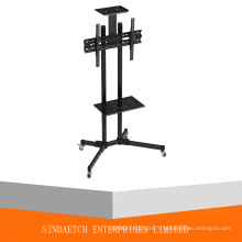 Public TV Floor Stand Empattement 30-60 ""