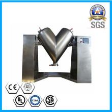 Mélangeur de forme de V d'acier inoxydable pour la poudre en céramique