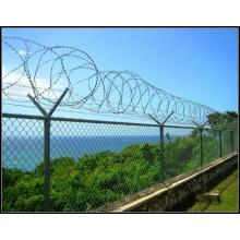 The Concertina Razor Barbed Wire Fence