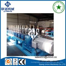 Server rack open frame steel profile rollform manufacturing line