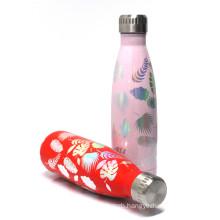 Koodee Wholesales Insulated Cola Shaped Water Bottle BPA Free 18/8 Stainless steel sport vacuum Flask