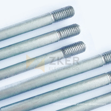 Hot dip galvanizing  earth rod Zinc coated steel rod Non magnetic ground rod for earthing system