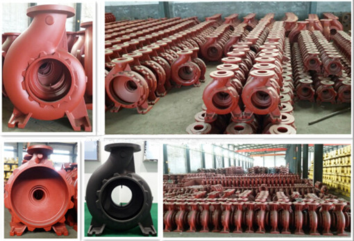 Grey Iron Casting Iron Resin Sand Casting Pump Volute