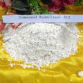Weißer Calcium-Zink-Pulver-Stabilisator für PVC-Verbindung