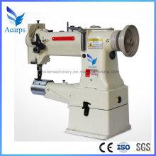 Máquina de costura industrial de bolsa com ponto fixo de agulha única para bolsas de couro