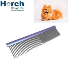 Stainless brush beard dog comb hair removal