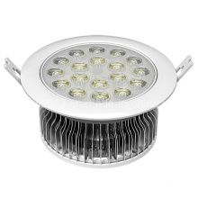 Fin Type 18W lampe LED ronde LED plafonnier