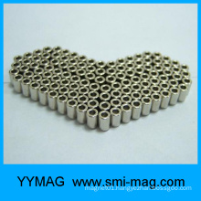 China hollow cylinder neodymium ring permanent Magnet