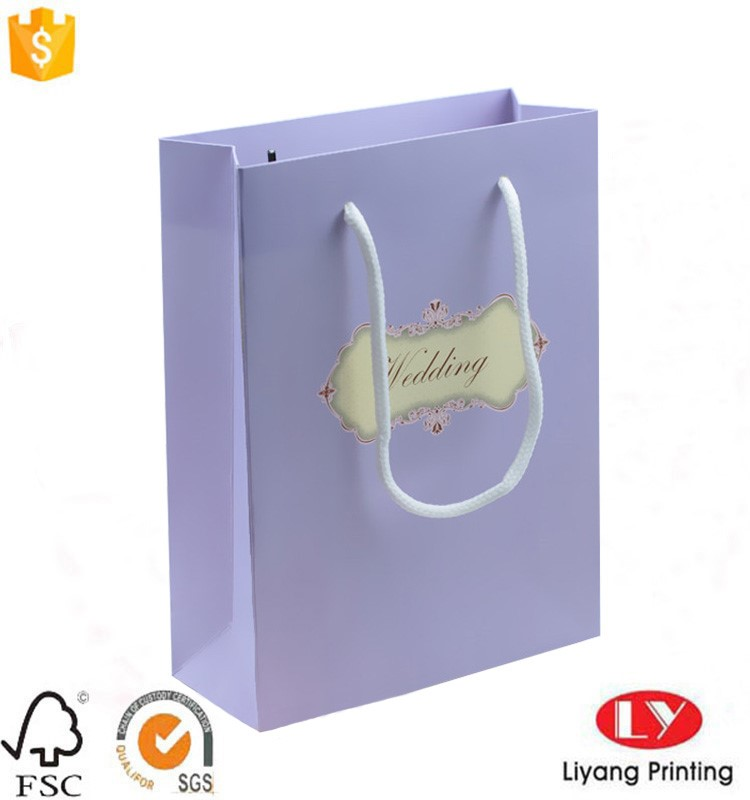 wedding bag with window