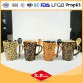 Cerámica diseño personalizado 325 ml cerámica taza de café formas