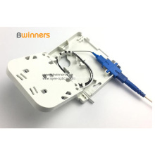 Boîte de terminaison fibre optique SC / APC FTTH 1 port