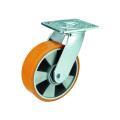 Schwerlast-Schwenk-PU auf Aluminiumrollen