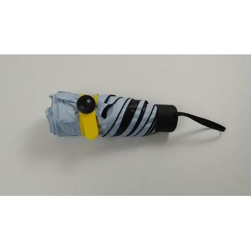 Taschengröße 5 faltender kleiner Sonnengroßhandelsschirm