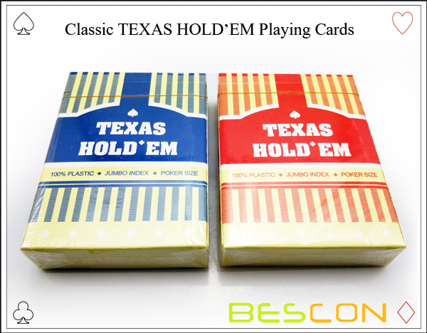 Classic TEXAS HOLDEM Playing Cards-2