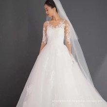 Beautiful Back Long Sleeve Lace Wedding Dress